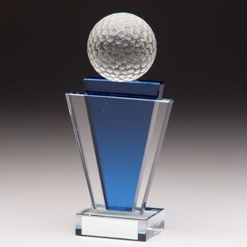 Gauntlet Golf Crystal Award 160mm
